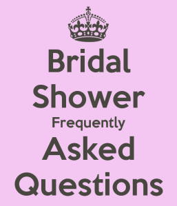 Tips to throw a bridal shower